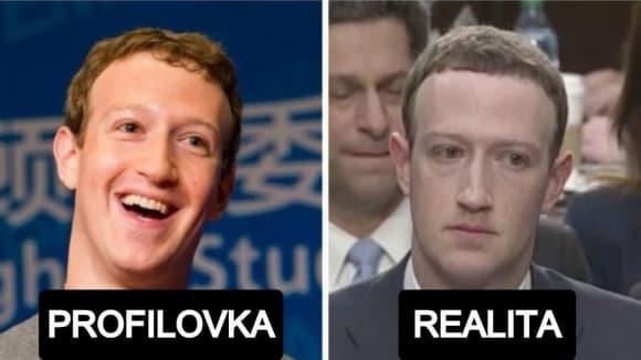 Internetové vtipy na Marka Zuckerberga