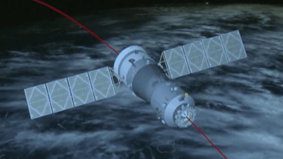 Čínská vesmírná stanice shořela v atmosféře