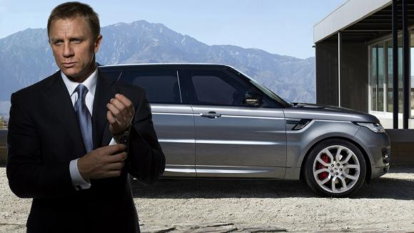 Range Rover a James Bond