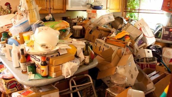 Po krk v odpadcích- kuchyně