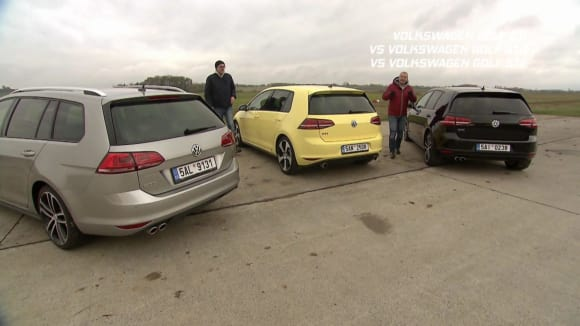 Volkswagen Golf GTI vs GTD vs GTE
