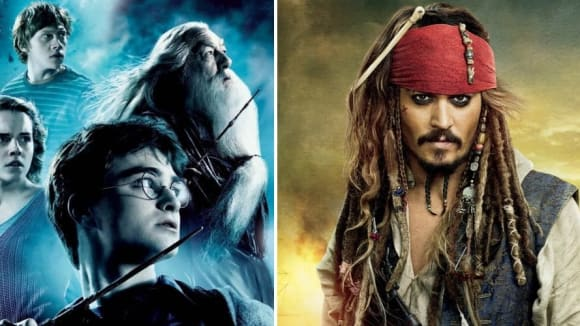 Harry Potter a Johnny Depp