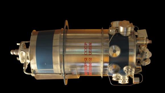 Model ruského satelitu Meteor 2