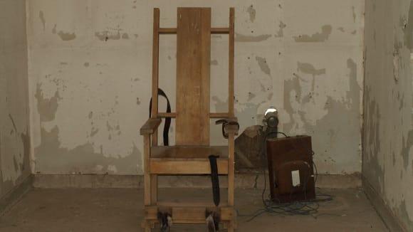 Elektrické popravčí křeslo - americký vynález