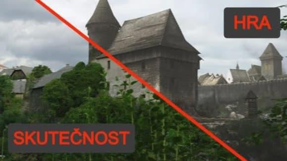 Jak vypadají místa z historické hry Kingdom Come: Deliverance dneska ve skutečnosti?