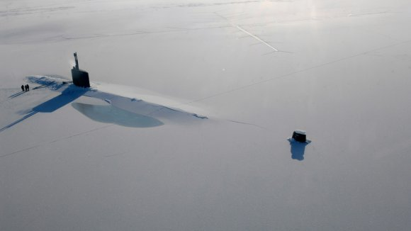 Americké jaderné ponorky jako USS Annapolis pravidelně křižují Arktidou