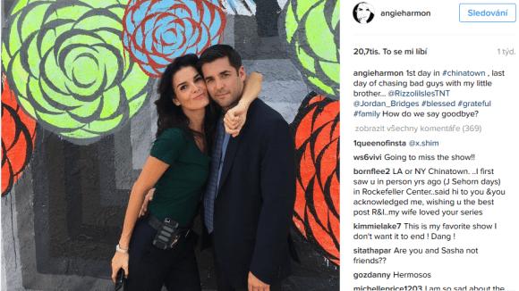 Rizzoli a Isles - Angie se loučí se seriálovým bráchou