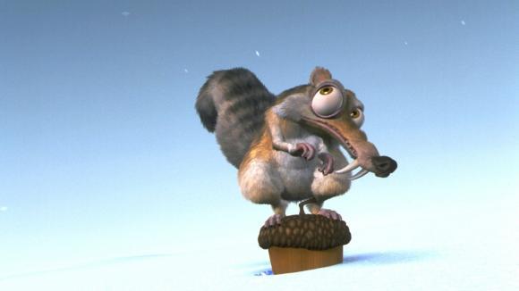 Veverka Scrat, bez níž by Doba ledová nebyla cool :)