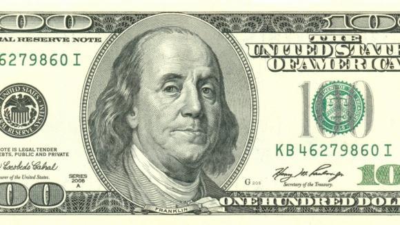 Americká sto dolarovka