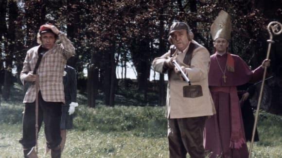 Záběry z filmu Nevím nic, ale řeknu všechno s Pierrem Richardem