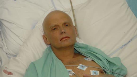 Umírající alexandr Litviněnko