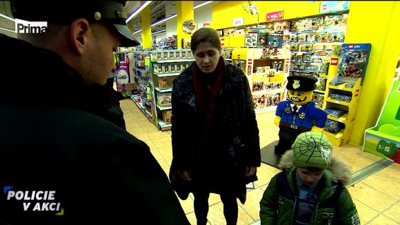 Mladý zloděj - Policie v akci