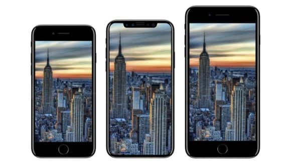 Nový iPhone uprostřed
