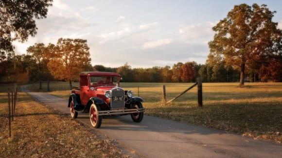 Historický Ford - ten pomocí holografie modelovaný nebyl