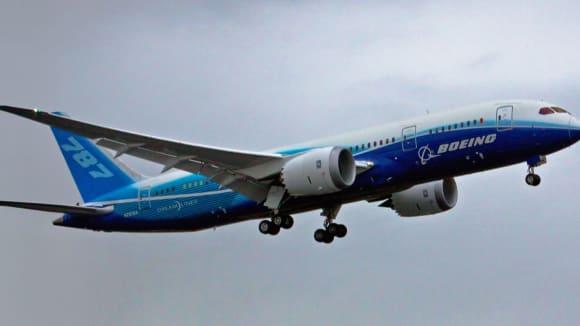 První let Boeing 787 Dreamliner