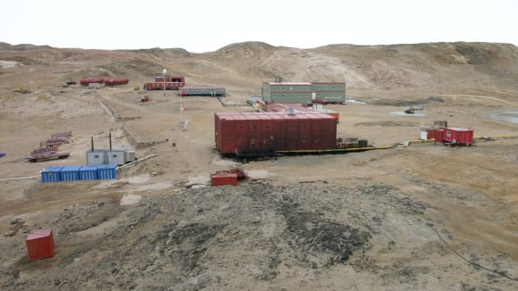 Jedna z čínských polárních stanic