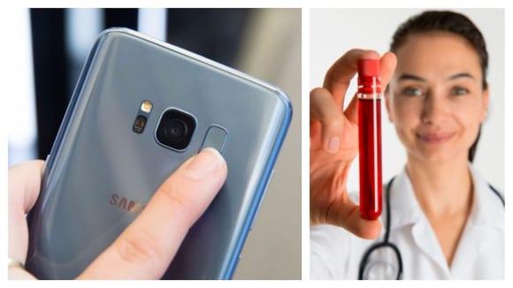 Samsung chystá nový způsob odemykání svých zařízení pomocí toku krve
