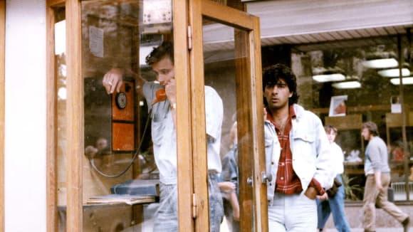 Lukáš Vaculík a Sagvan Tofi ve filmu Kamarád do deště
