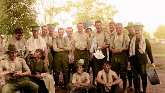 1st Australian Imperial Force v táboře