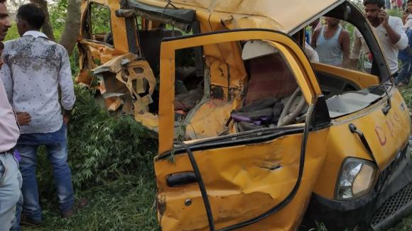 Další nehoda školního autobusu v Indii