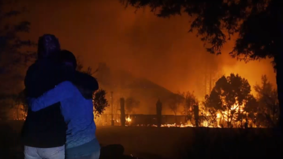 ilustrační foto- požáry v Kalifornii
