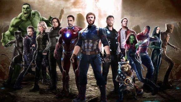 Fandovský obrázek Avengers 4