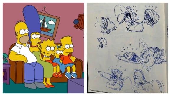 Skeče ze seriálu Simpsonovi