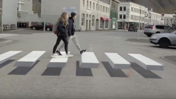 Inovativní přechod na Islandu