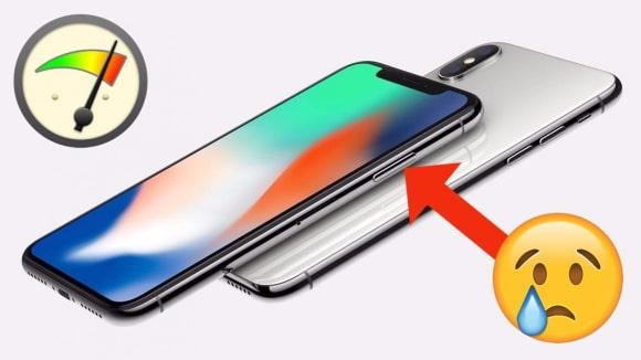 Nový iPhone X v testech výkonu lehce zklamal