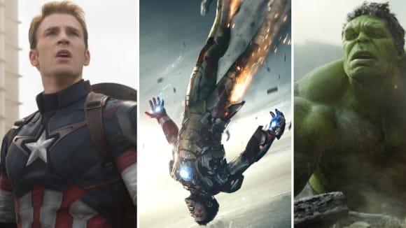Kapitán Amerika, Iron Man a Hulk