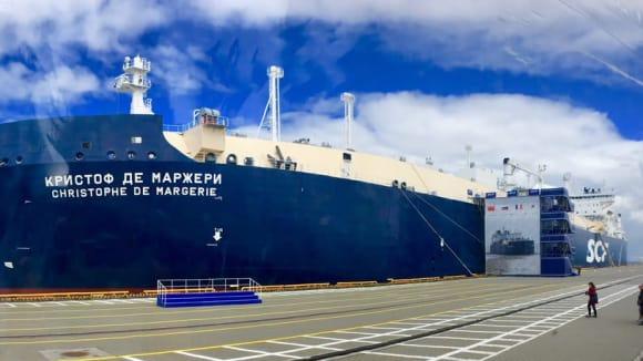 Arktický tanker Christophe de Margerie si může sám razit cestu ledem