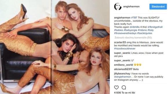 Rizzoli a Isles: Angie Harmon jako modelka