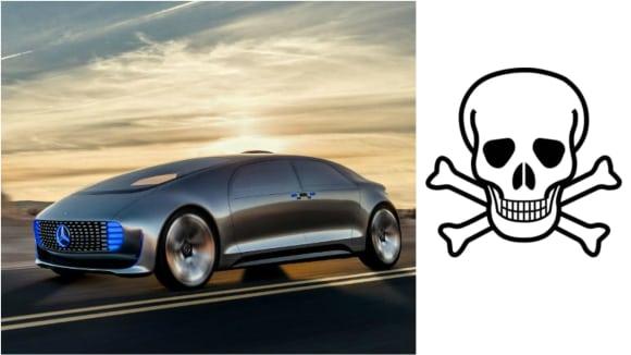 Samořiditelný Mercedes