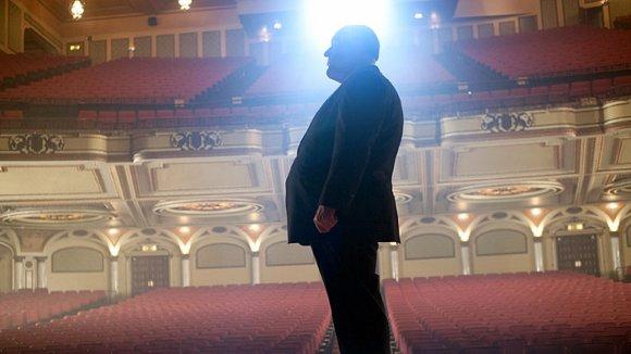 Záběry z filmu Hitchcock s Anthony Hopkinsem