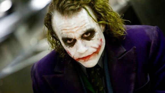 Heath Ledger jako Joker v Temném rytíři