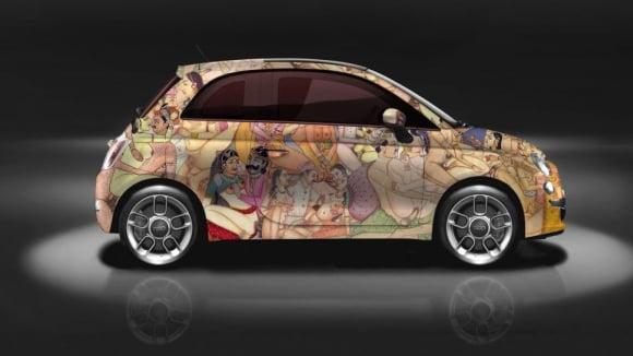 Sprostý Fiat inspirovaný Kámasútrou šokuje zvenku i uvnitř