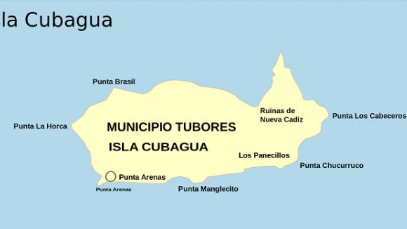 Pokud by se Isla de Cubagua opravdu stala majetkem ČR, nebyly by jeho místa zasvěceny pouze Punťům, ale i Alíkům, Brokům, Azorům či Nellynkám