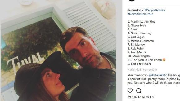 Stana Katic s manželem
