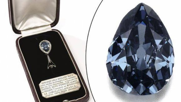 Farnese Blue diamant