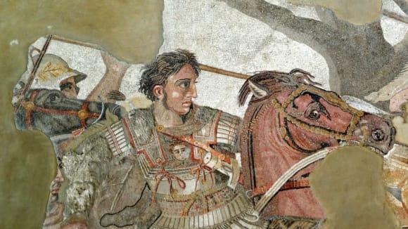 Alexandr Veliký - mozaika