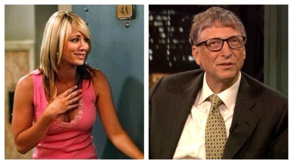 Bill Gates bude přespávat u Penny doma