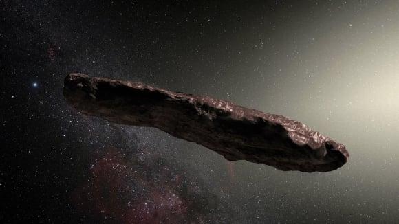 Oumuamua - posel z jiné galaxie