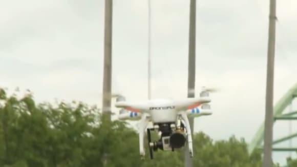 Ilustrační foto- dron