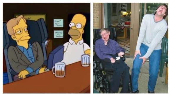 Vtipná vystoupení Stephena Hawkinga