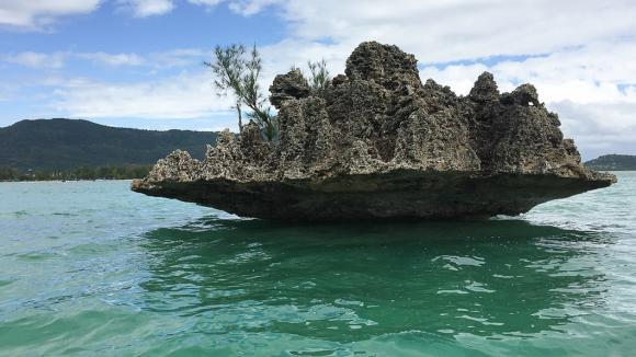 """Mauricijská laguna - nový malý """"kontinent"""""""