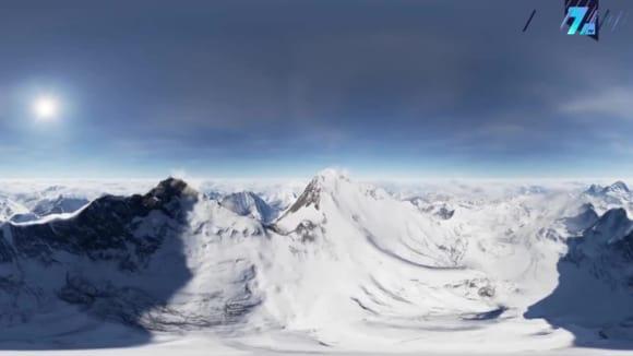 Mount Everest lze zdolat virtuálně