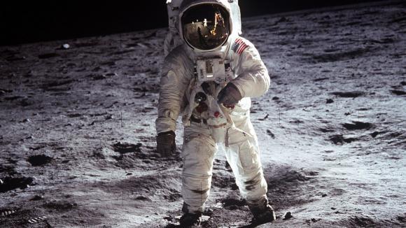 Buzz Aldrin z mise Apollo 11 - druhý člověk na Měsíci