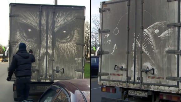 Řidiči dodávek se nestačí divit, když vidí svá auta.