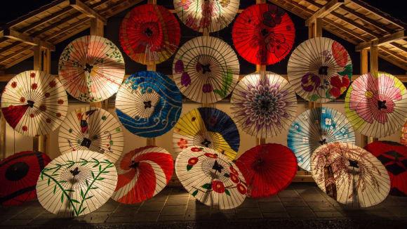 Japonské deštníky
