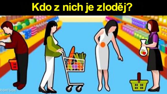 Poznáte lupiče z obchodu? 4